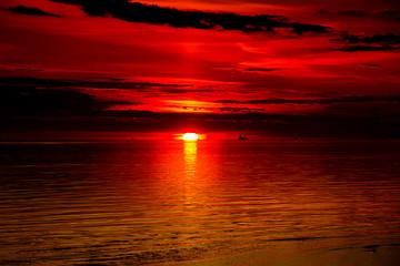Twilight Paradise Sky