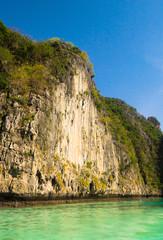 High Cliff Blue Seascape