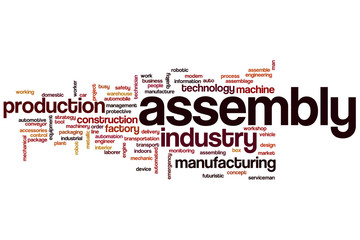 Assembly word cloud