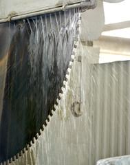 granite cutting disc saw machine