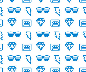 Hipster Background. Vector