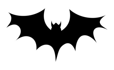 Scary Bat Shape Vector