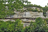 La Roque Saint Christophe, Perigord