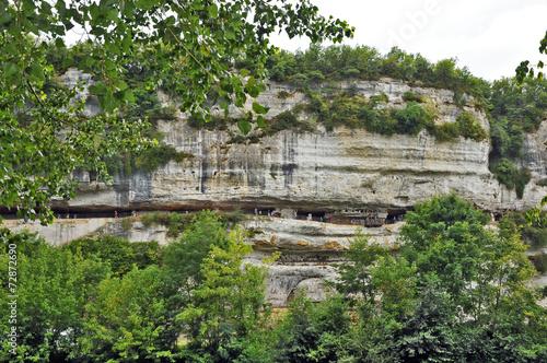 La Roque Saint Christophe, Perigord - 72872690