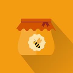 honey icon flat