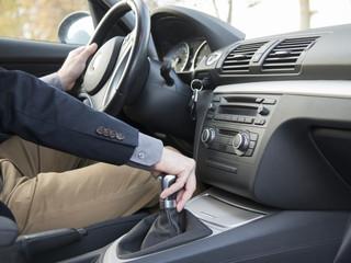 interior car driving