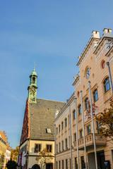 Rathaus und Gewandhaus,Zwickau