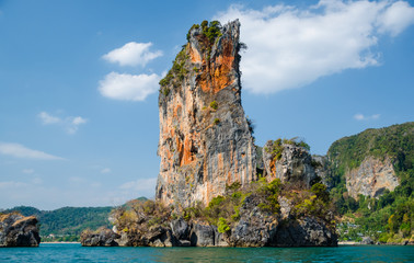 Landmark Island in Krabi province , Thailand