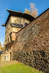Pulverturm mit Stadtmauer Zwickau