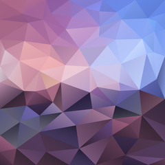 vector polygonal background triangular design in violet colors