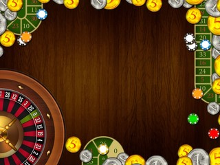 casino gambling background texture illustration