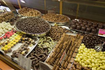 cioccolato in vetrina