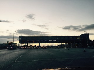 Mersey Tunnel toll booth