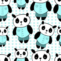 panda cute pattern