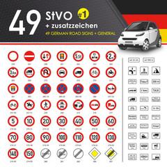 49 StVO + Zusatzzeichen #1