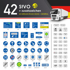 42 StVO + Zusatzzeichen #3
