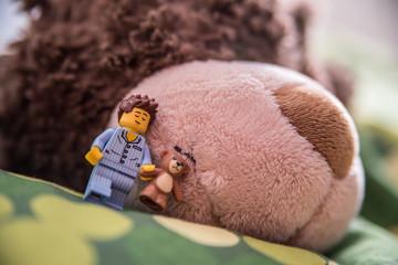 Sleepwalking Lego Man