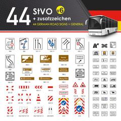 44 StVO + Zusatzzeichen #6