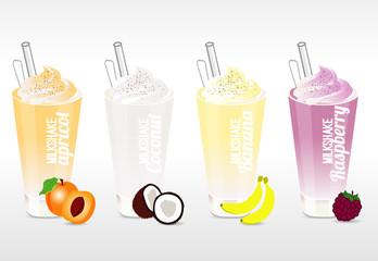 4 milkshake