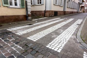 Kopfsteinpflaster in der Altstadt