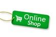 Leinwandbild Motiv Online-Shop