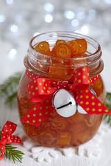 candied orange peels confiture