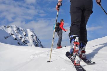 Skitour im Hochgebirge