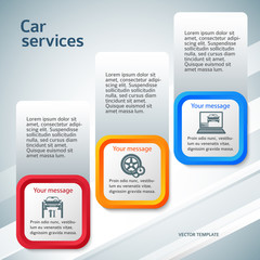 vertical-banner-auto-service-page-flyer-background