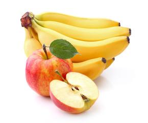 Banana with apple