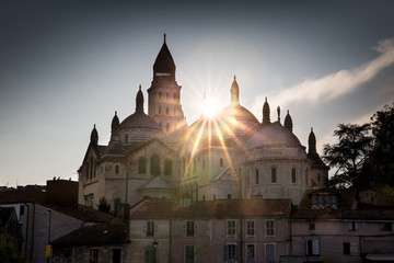 France, Dordogne, Perigueux, Saint Front Byzantine Cathedral, st