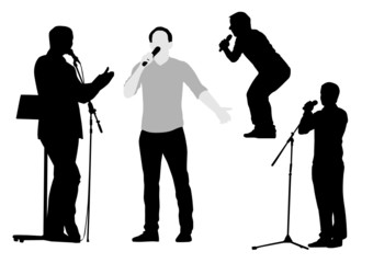 Orator Silhouettes