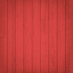 Red Wood fence close up