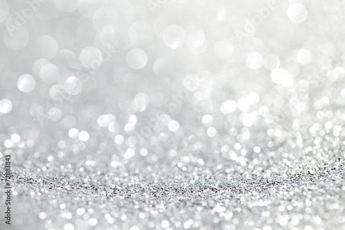 Leinwanddruck Bild Abstract silver background