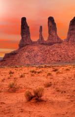 Warm Skies Monument Valley
