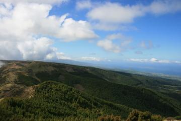 Azoren - Sao Miguel - Blick nach Nordwesten2