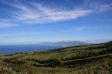 Azoren - Sao Miguel - Blick von Westseite2