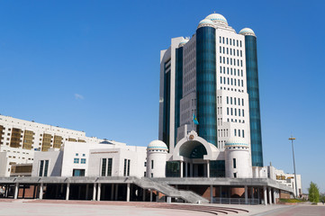 House of Parliament of the Republic of Kazakhstan in Astana
