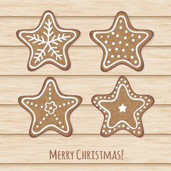 Decorative holiday cookies