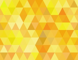vector seamless pattern with yellow triangles