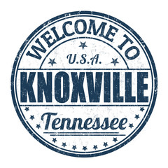 Welcome to Knoxville stamp
