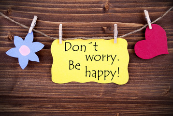 Yellow  Label Dont Worry Be Happy On