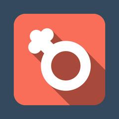 female gender symbol vector icon