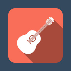 guitar vector icon