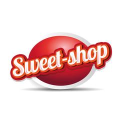 Sweet-shop label