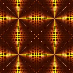 Gold cross seamless background
