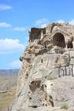 Cave ancient pagan city Uplistsihe poster