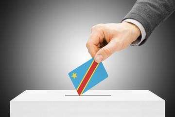 Ballot box - Democratic Republic of the Congo