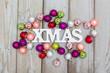 Hintergrund Weihnachsten - Buntes Durcheinander