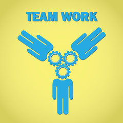 Teamwork Concept vector illustration