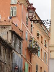 Le vieux centre-ville de Bastia (Corse)